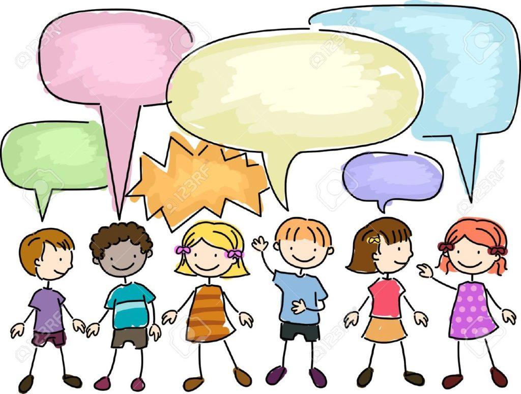 8906476-Illustration-of-a-Group-of-Kids-Talking-Stock-Illustration-children