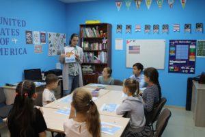 Отчет об Американской школе в Курке