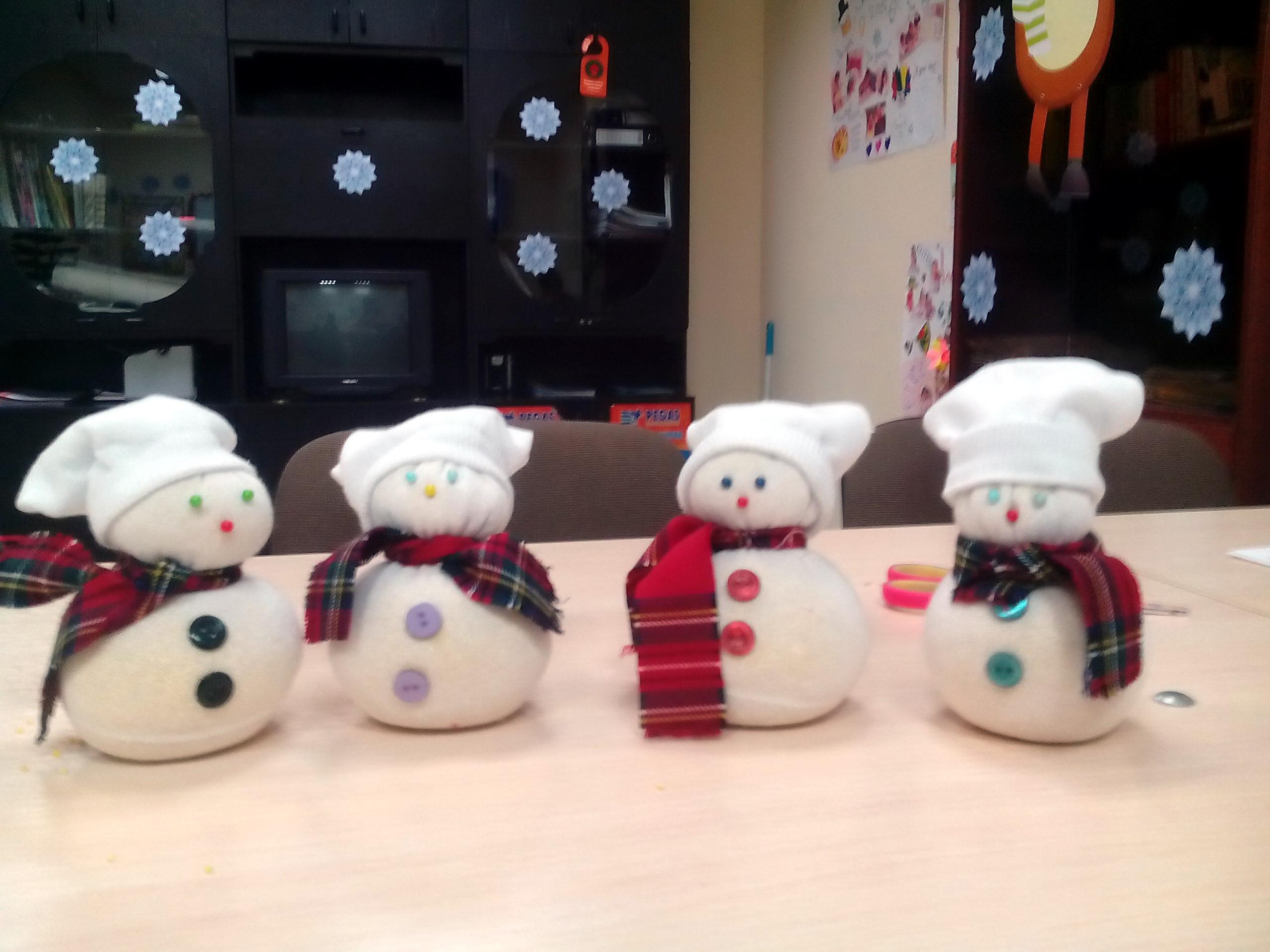diy snowman